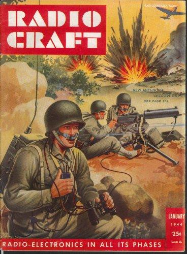 RADIO CRAFT Army Anti-Noise Microphone Oscillators ++ 1 1944