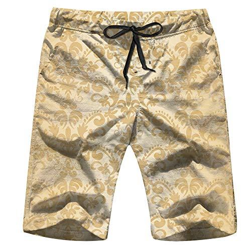 Cool pillow Halloween Horror Symbols Holidays Men's Swim Trunks Beach Short Board Shorts S]()