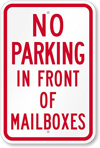 DO NOT PARK IN FRONT OF MAILBOX 12