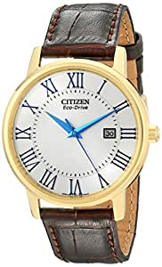 Citizen Men's BM6752-02A Eco-Drive Gold-Tone Stainless Steel Watch