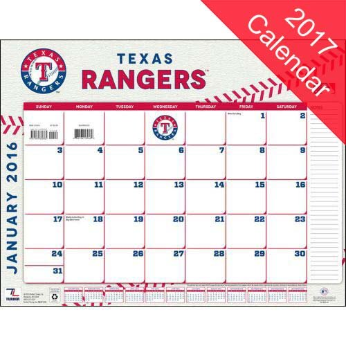 Texas Rangers Desk Calendars Price Compare