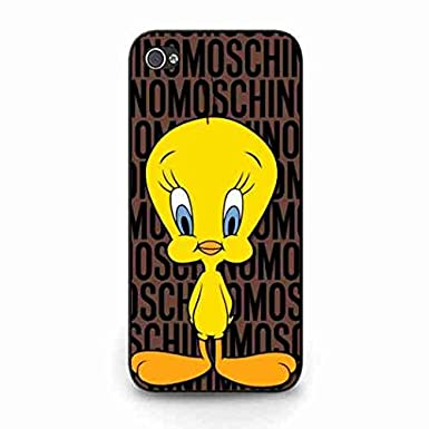 separation shoes f02a1 2c56e Cute Tweety Bird Moschino Logo Iphone 5C Case,Moschino Logo Print ...
