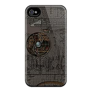 For Harries Iphone Protective Case, High Quality For Iphone 4/4s Post Tech Punk Skin Case Cover by icecream design