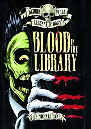 book cover of Blood in the Library