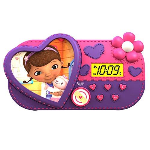 (Doc McStuffins Night Glow Character Alarm Clock (ST-346))