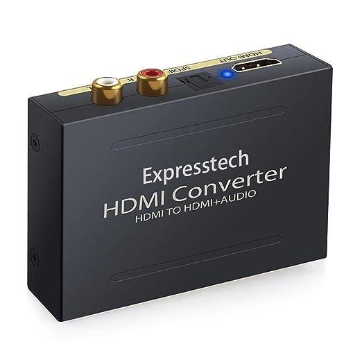 7 opinioni per Expresstech @ Hdmi a Hdmi + audio adattatore/ HDMI audio e video estrattore /