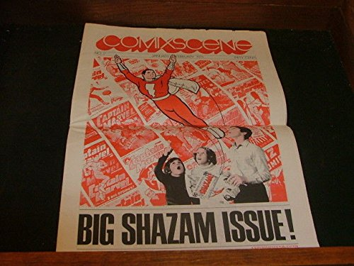 Comix Scene Comic Newspaper Jan-Feb 1973 Shazam #2