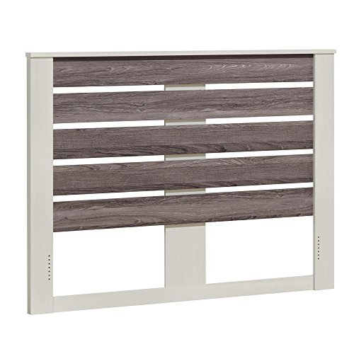 Ameriwood Home Colebrook Queen Headboard, Vintage White/Rustic by Ameriwood Home