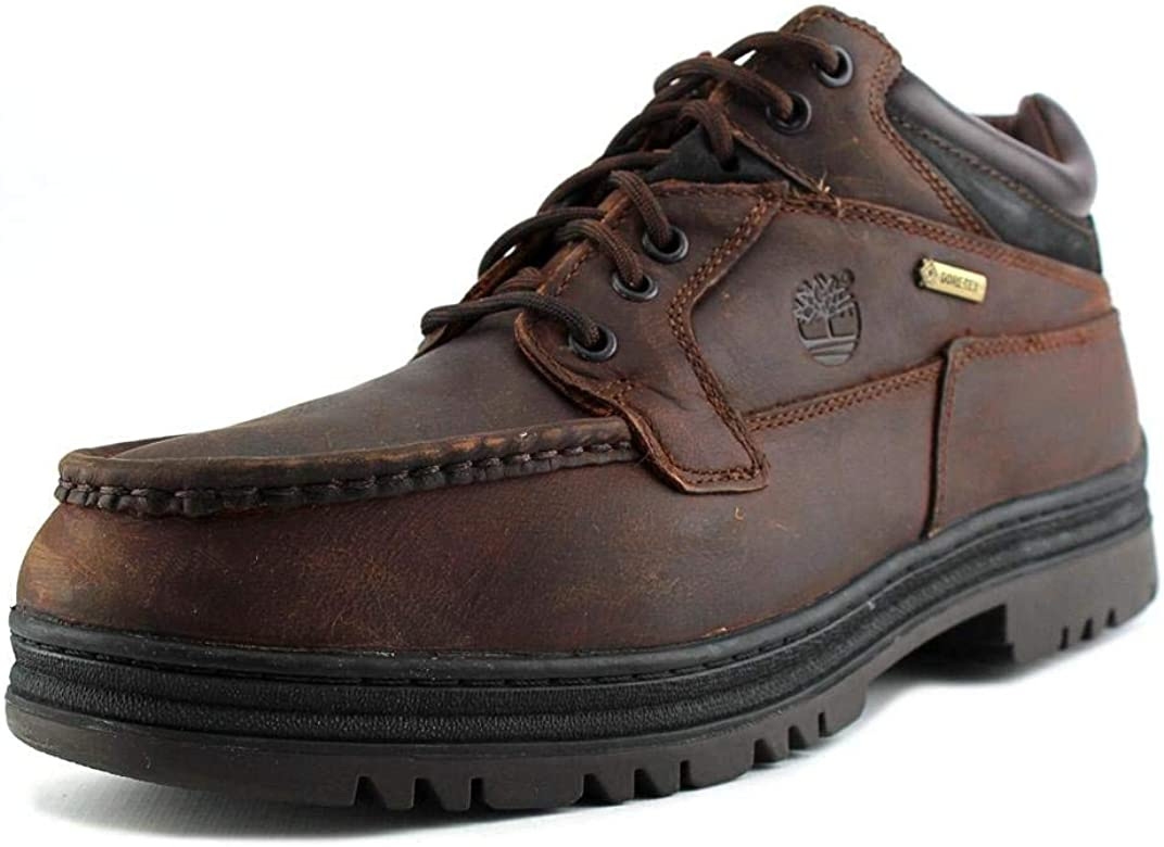 Timberland Men's Waterproof Chukka Gore Tex Brown Leather Boots 37042 MW