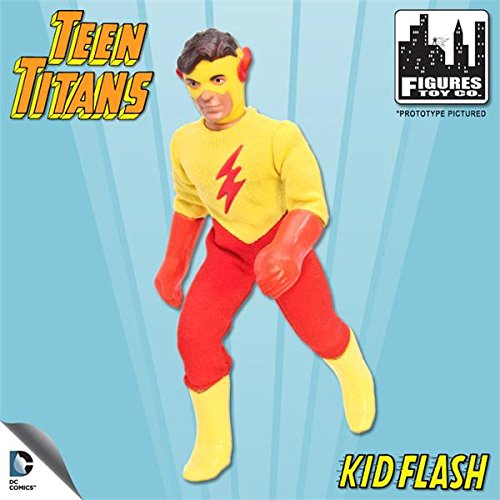 World's Greatest Heroes Teen Titans 8 Inch Kid Flash Action - Retro Flash