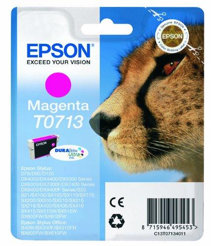 787 opinioni per Epson C13T07134012 Cartuccia d'Inchiostro Originale, Colore Magenta
