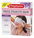heated eye mask - MegRhythm Gentle Steam Eye Mask, Lavender, 7 Count