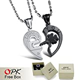 Dancing Zone Opk Jewelry Personality Heart And Key Review and Comparison