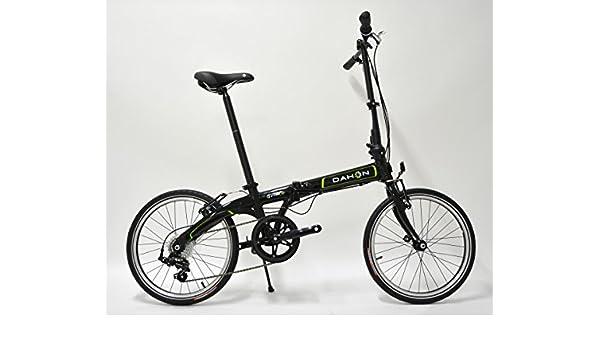 Bicicleta plegable Pack Vybe D7 Obsidian negro: Amazon.es: Deportes y aire libre
