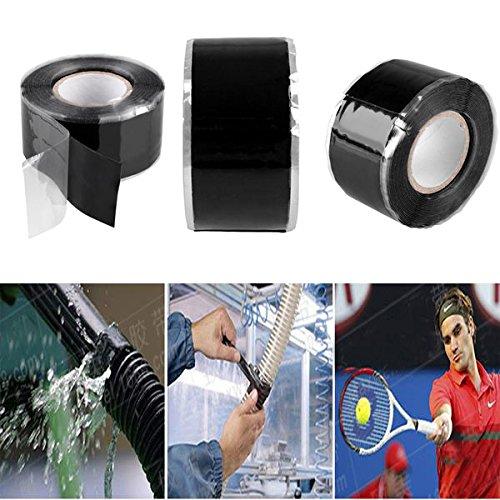 Kicode Ruban de r/éparation adh/ésif en caoutchouc imperm/éable /à leau Seal Pool Roof Automotive Plomberie Fuites industrielles et de VR