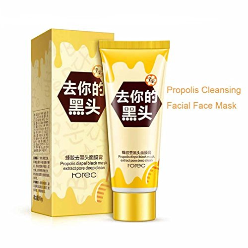 Price comparison product image Fenleo Propolis Cleansing Facial Face MaskTear-type Mask Remove Blackhead