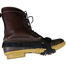 Shoe Ice Cleats - Stable No Slip Grip Traction for Boots and Shoes - Men and Women - Snow and Ice