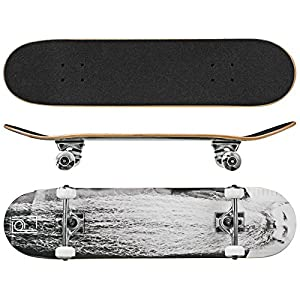 Roller Derby Rd Deluxe Series Skateboard The Beard, Multi, 31″ x 8″
