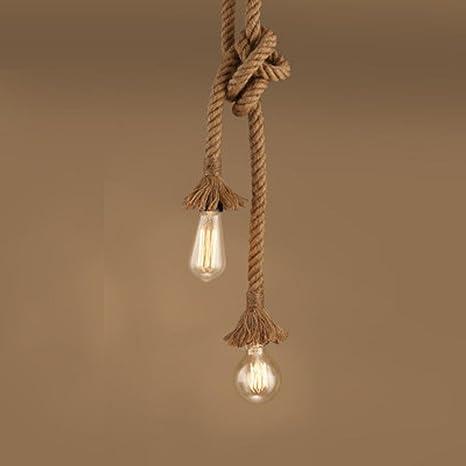 Vintage cuerda la Industria lámpara araña 068 - Lámpara de ...