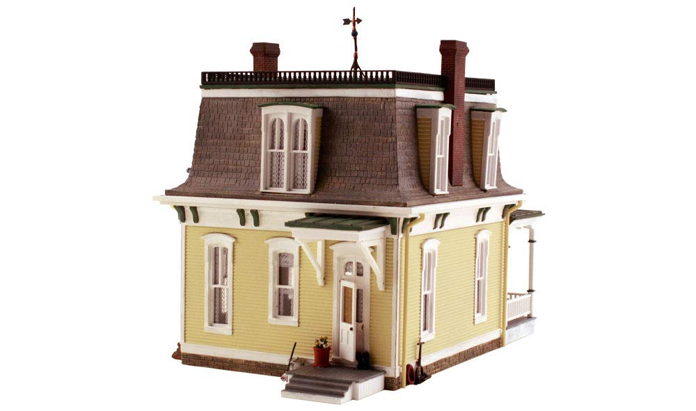 Woodland Scenics Built-N-Ready Home Sweet Home 2-Story Building HO scale