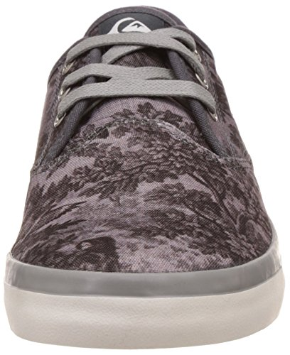 Quiksilver Herren Shorebreak Deluxe Low Top Shoes, Zapatillas Para Hombre Negro (Black/White/Grey XKWS)