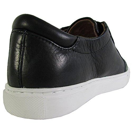 Douce Souls Femmes Bobbie Lacets Sneaker Chaussures Noir