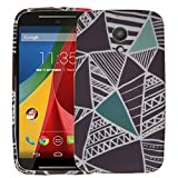 Moto G2 Case Color Inversion, Motorola Moto G 2nd Gen Case TPU Silicone Skin Phone Case Cover by ThePhoneCovers