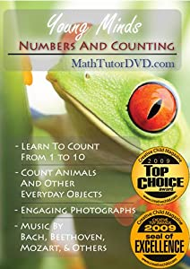 Young Minds - Numbers And Counting - Math Tutor Dvd Series from MathTutorDVD.com