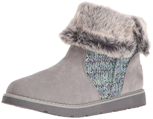 Bobs by Skechers Alpine-Winter Warriors Mujer US 6.5 Gris