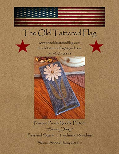 Skinny Series: Daisy Primitive Punch Needle Pattern