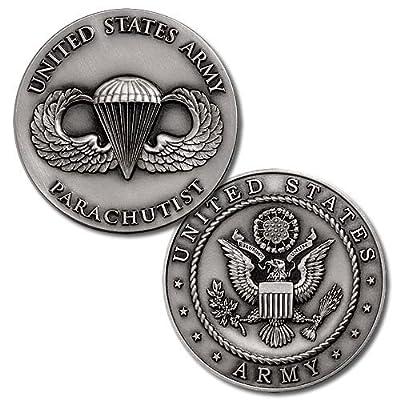 U.S. Army Parachutist Challenge Coin
