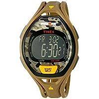 Reloj Timex Unisex TW5M01300 Ironman Sleek 50 gris /amarillo con correa de resina color camo