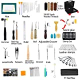 273 Pieces Leather Working Tools and Supplies