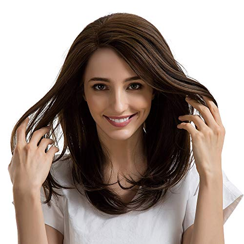 Inkach Synthetic Wig - Women Straight Short Lace