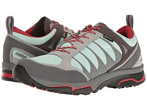 Asolo Women's Blade GV Hiking Shoes Silver/Poolside - 9.5