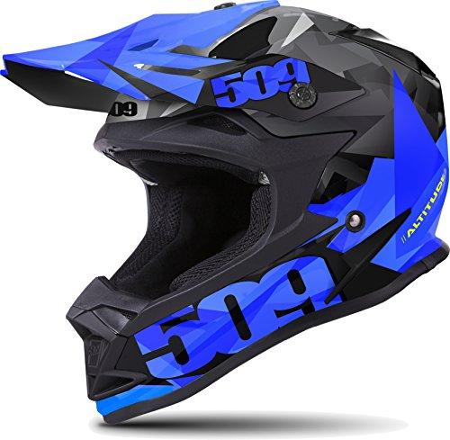 Helmet Sm Matte (509 Altitude Snowmobiling Helmet - Matte Blue (SM))