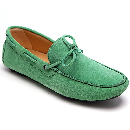 zanetti , Herren Mokkasins Grün Verde