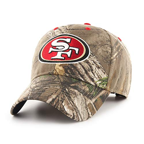 Men Apparel Headwear (OTS NFL San Francisco 49Ers Male Hickory All-Star Adjustable Hat, Realtree, One Size)
