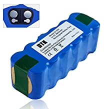 Dtk 12 cells high capacity 3.5Ah Ni-MH Battery for iRobot Roomba R3 500,600,700,800 900 Series 500 510 529 530 570 580 600 630 660 700 780 790 800 860 870 880 980 Vacuum Cleaning Robots (3800MAH)