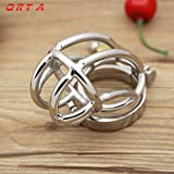 ccTina Big Chastity Belt Male Chastity device Stainless Steel cock Cage Sex Toys for men,steel chastity cage,metal cock rings sexo pene 1pcs