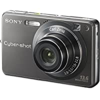 Sony Cybershot DSCW300 13.6MP Digital Camera with 3x Optical Zoom with Super Steady Shot Basic Facts Review Image