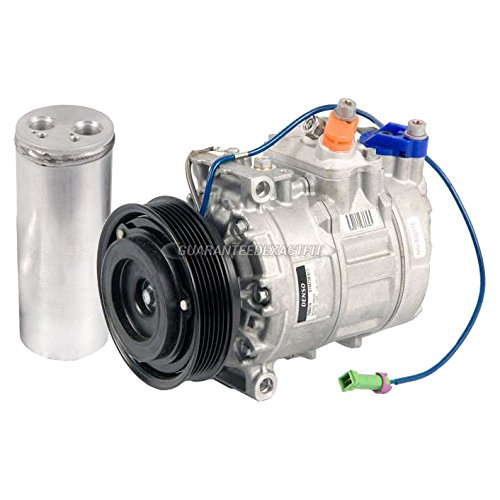 OEM AC Compressor w/A/C Drier For VW Passat 2.8L 2001-2005 - BuyAutoParts 60-87705R4 New ()