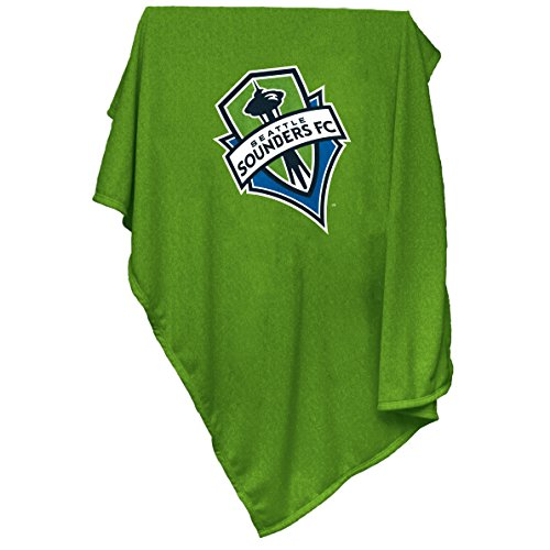 MLS Seattle Sounders Sweatshirt Blanket, Large by Logo Brands