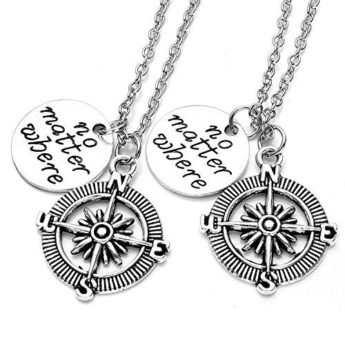 elefan-cornelia-jewelry-alloy-compass-pendant-necklace-no-matter-where