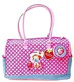 Kids Strawberry Shortcake Large Tote Zip Up Bag