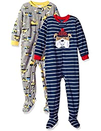 Carter's Boys' 2-Pack Fleece Pajama Set