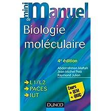 Mini Manuel de Biologie moléculaire - 4e éd. : Cours + QCM + QROC (French Edition)