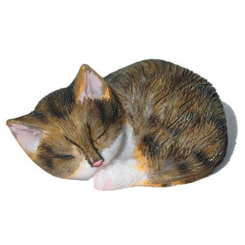 Miniature Fairy Garden Sleeping Cat