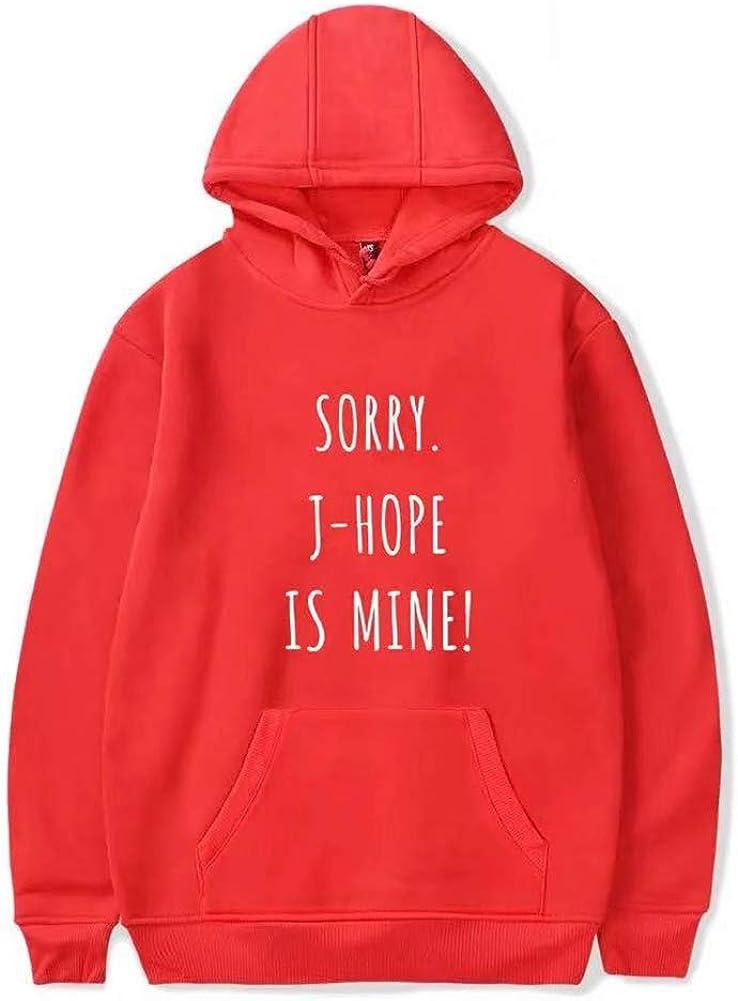 BTS Sorry Jung Kook is Mine Fashion Hoodie Sweatshirt Korea Bangtan RM Hoodies Sweatshirt A6, M