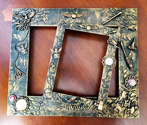 5x7 Harry Potter Picture Frame | Wizard Wizarding Witch Picture Frame | Potter Picture Frame | Always | Harry Potter Christmas Gift ()